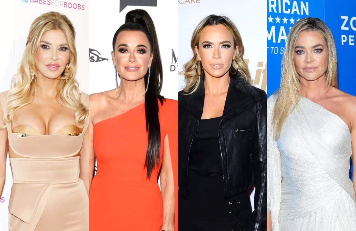 Brandi Glanville Denies 'Faking' RHOBH Scene With Kyle and Teddi, Reveals the Last Time She Spoke to Denise and Explains Why She Dished About Denise to Costars