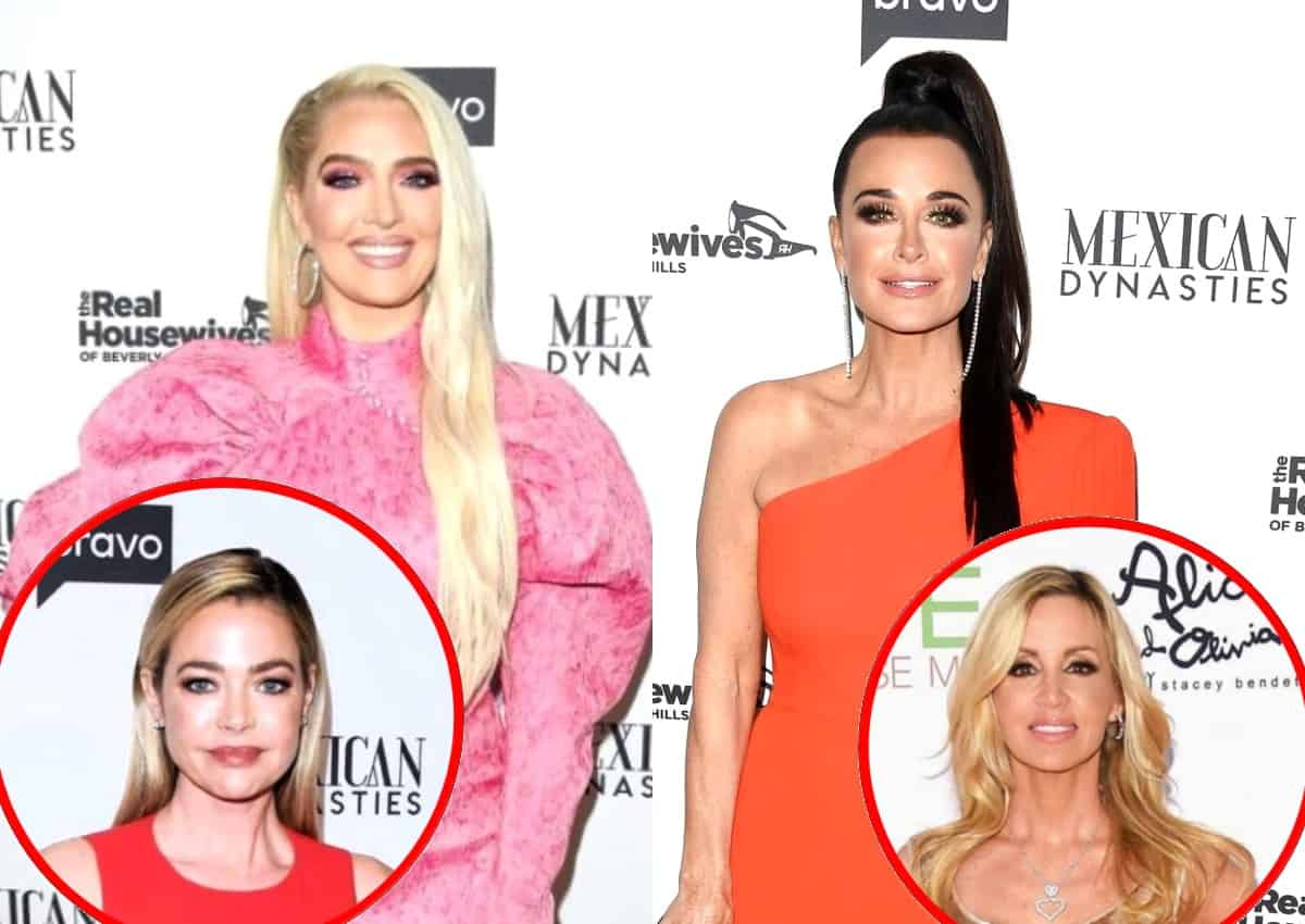 "RHOBH's Erika Jayne Reacts to Kyle Richards Saying She Has ""No Close Friends,"" Plus She Claims Denise Did ""a 180"" This Season and Shades Camille's Apology to Kyle"