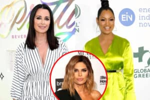 "Kyle Richards Claps Back at Garcelle For Calling RHOBH Cast ""Mean"" Over Not Inviting Her to Their Post-Reunion Get-Together, Discusses What ""Went Down"" at the Taping as Lisa Rinna Reacts With a Since-Deleted Post"