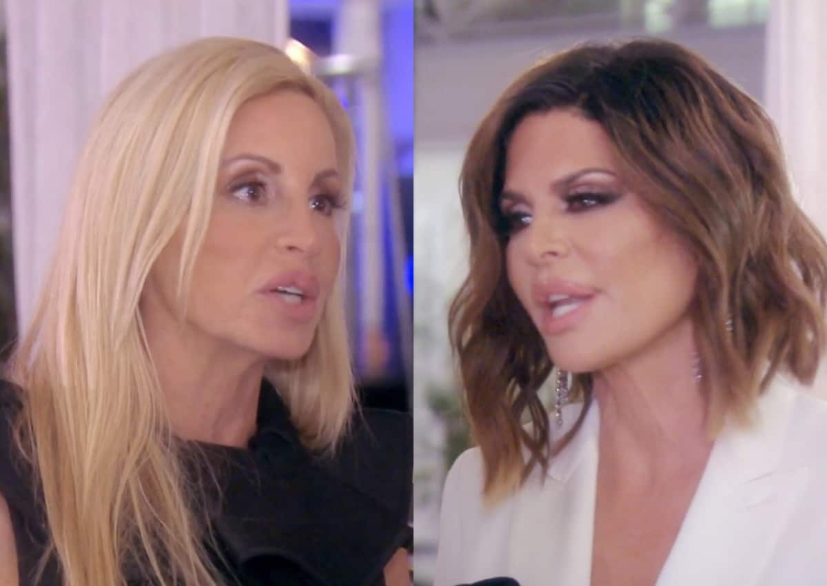 RHOBH Recap: Camille Gets Confronted by Lisa Rinna Over 'Mean Tweets' as Some Favorite Housewives From the Past Return For Drama at Kyle's Party