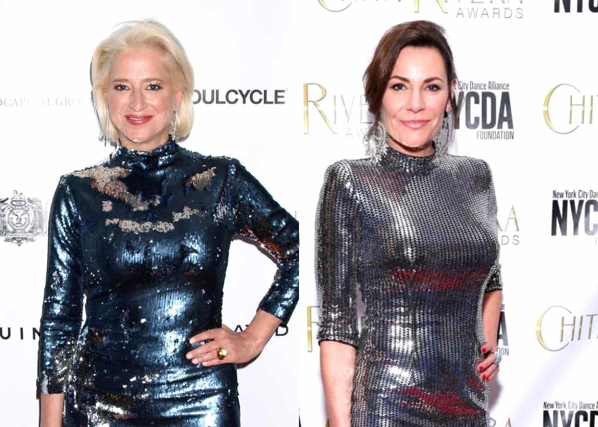 "RHONY's Dorinda Medley Blames 'Day-Drinking' For Fight With Luann de Lesseps, Admits She Took Things ""Too Far"" as She Explains Why She Lashed Out, Plus She Claims Sonja is Luann's ""Ride or Die"" Friend"