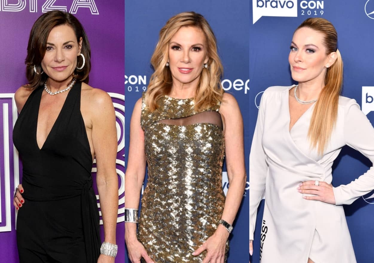 "Luann de Lesseps Shares What She Thinks of Ramona Singer's Birthday Party Meltdown as She Calls Out ""Harsh"" Treatment of Leah McSweeney, Plus RHONY Reunion Set to Tape In-Person"