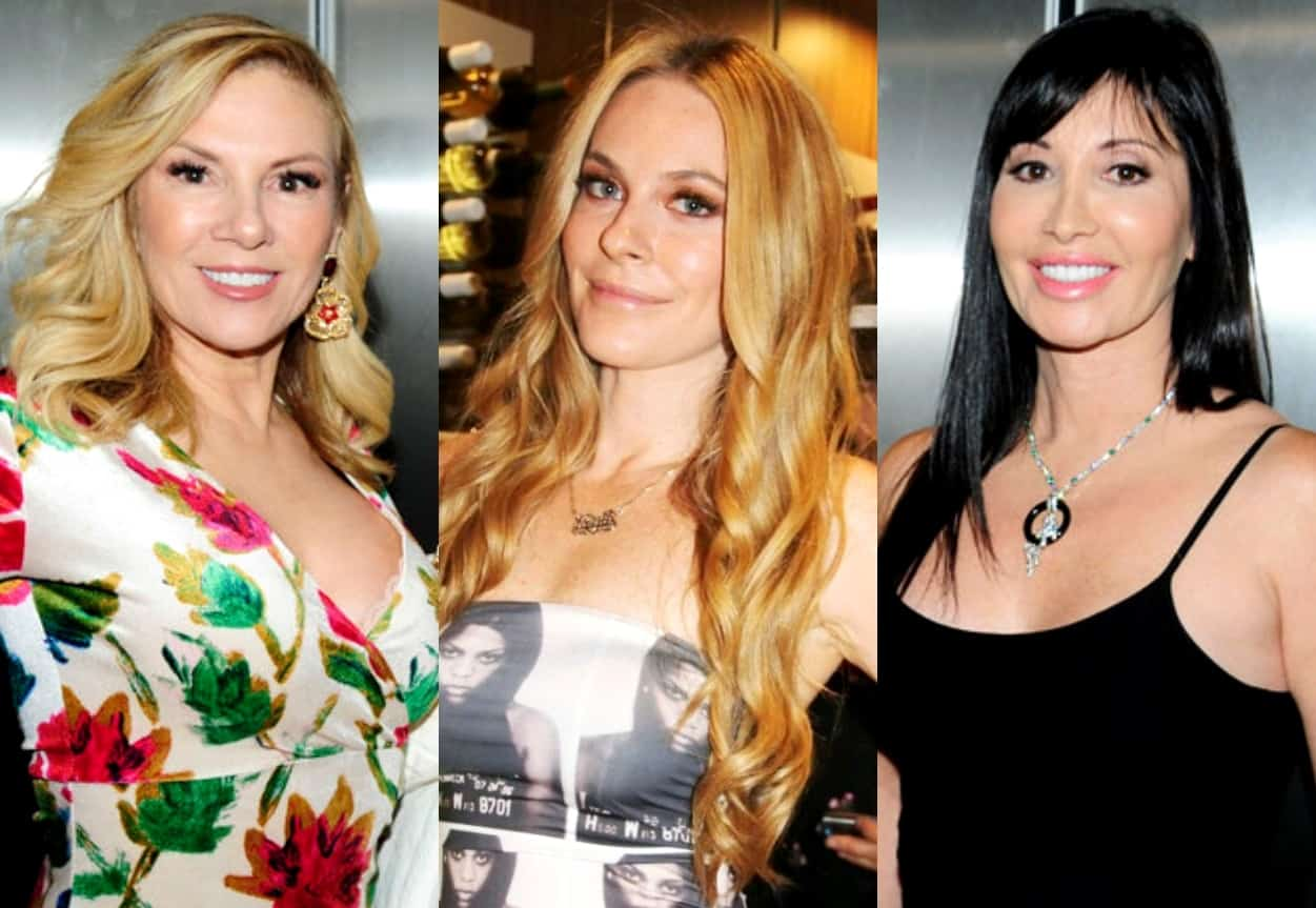 "RHONY's Ramona Singer Denies Leah McSweeney's Shocking Claim About Her, Slams Elyse Slaine and Leah as ""Mean Girls,"" Leah Responds by Calling Ramona ""Geriatric Regina George"" and Elyse Speaks"