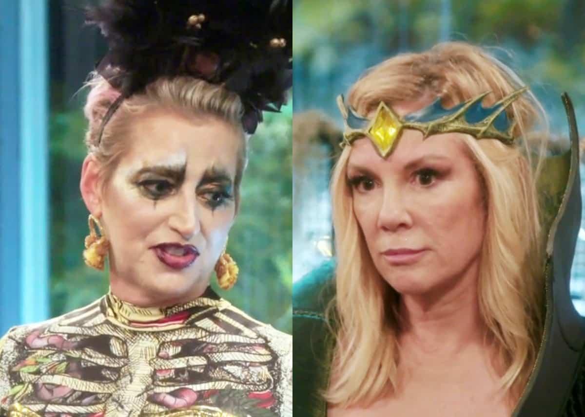 RHONY Recap: Dorinda Calls Out Ramona at Bizarre Halloween Party