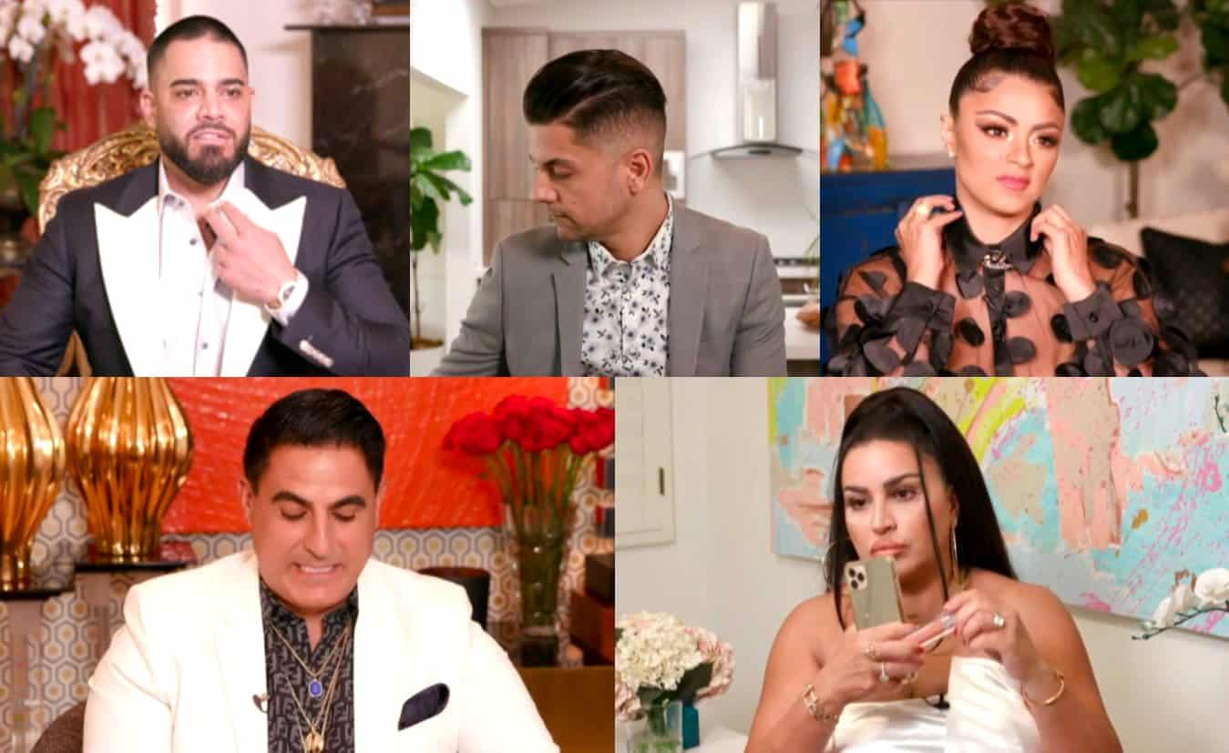 "VIDEO: Watch the Shahs of Sunset Season 8 Reunion Trailer! Destiney Slams MJ's Weight After MJ Calls Her a ""Liar"" and Storms Off, Mike Accuses Nema of Casting For a Girlfriend Plus MJ and Reza Rehash Feud"
