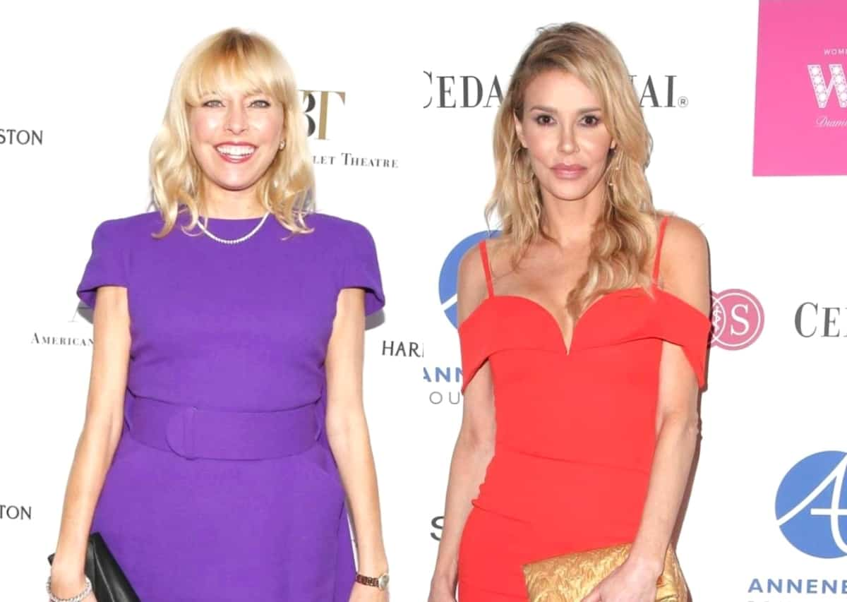 """Sutton Stracke Says Brandi Glanville """"Needs a Lot of Attention"""" as Kyle Richards Attributes Brandi's Drunken Behavior at the Fundraiser to Being """"Nervous"""" About Coming Back on RHOBH"""