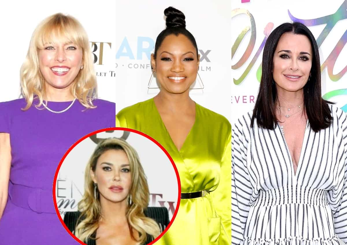 "RHOBH's Sutton Stracke Accuses Garcelle Beauvais of ""Hating"" on Kyle Richards, Plus She Says She Should Get a Diamond Over Brandi and Shares Update With Dorit"
