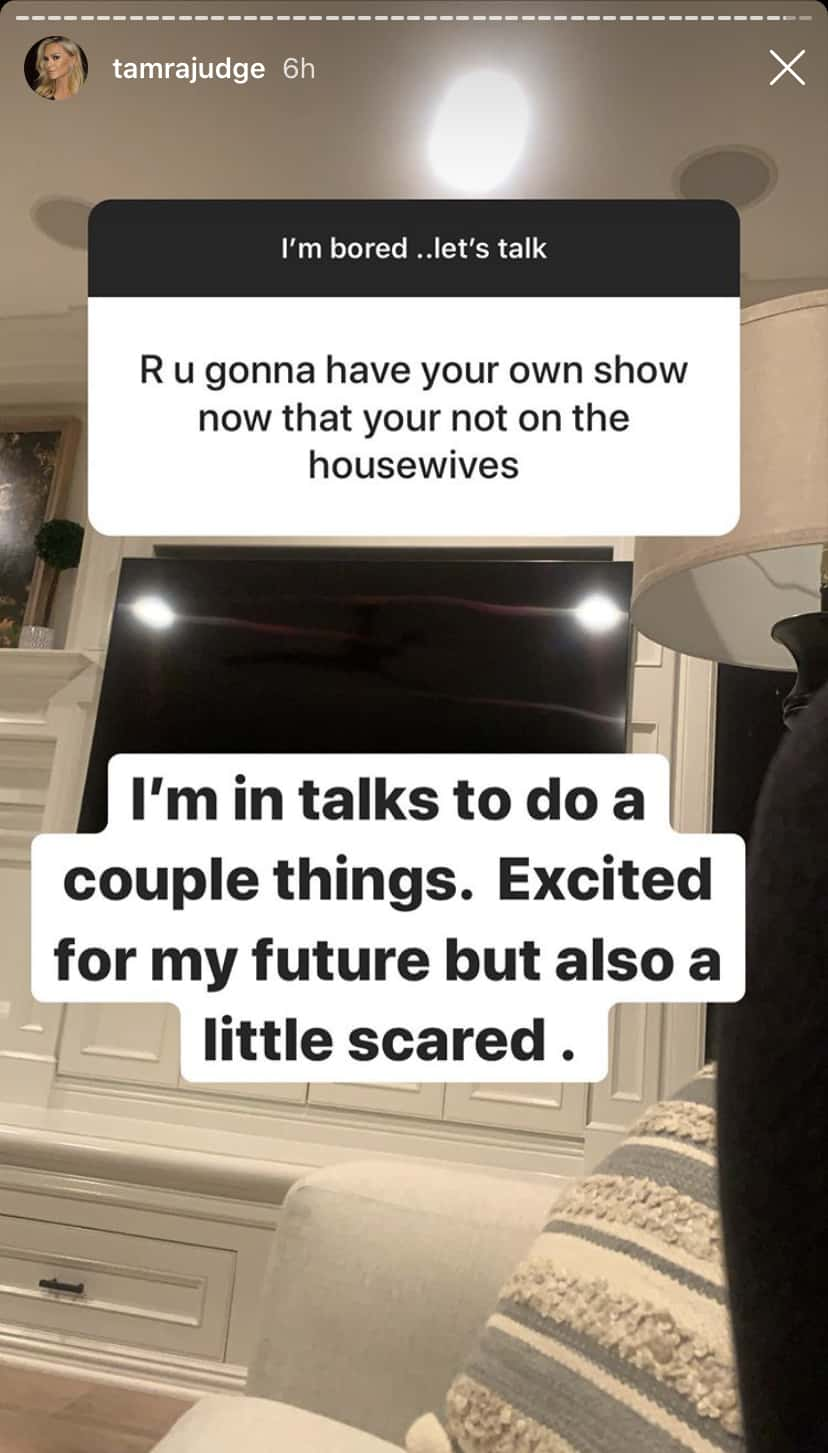 RHOC Tamra Judge is In Talks for a Couple New Shows