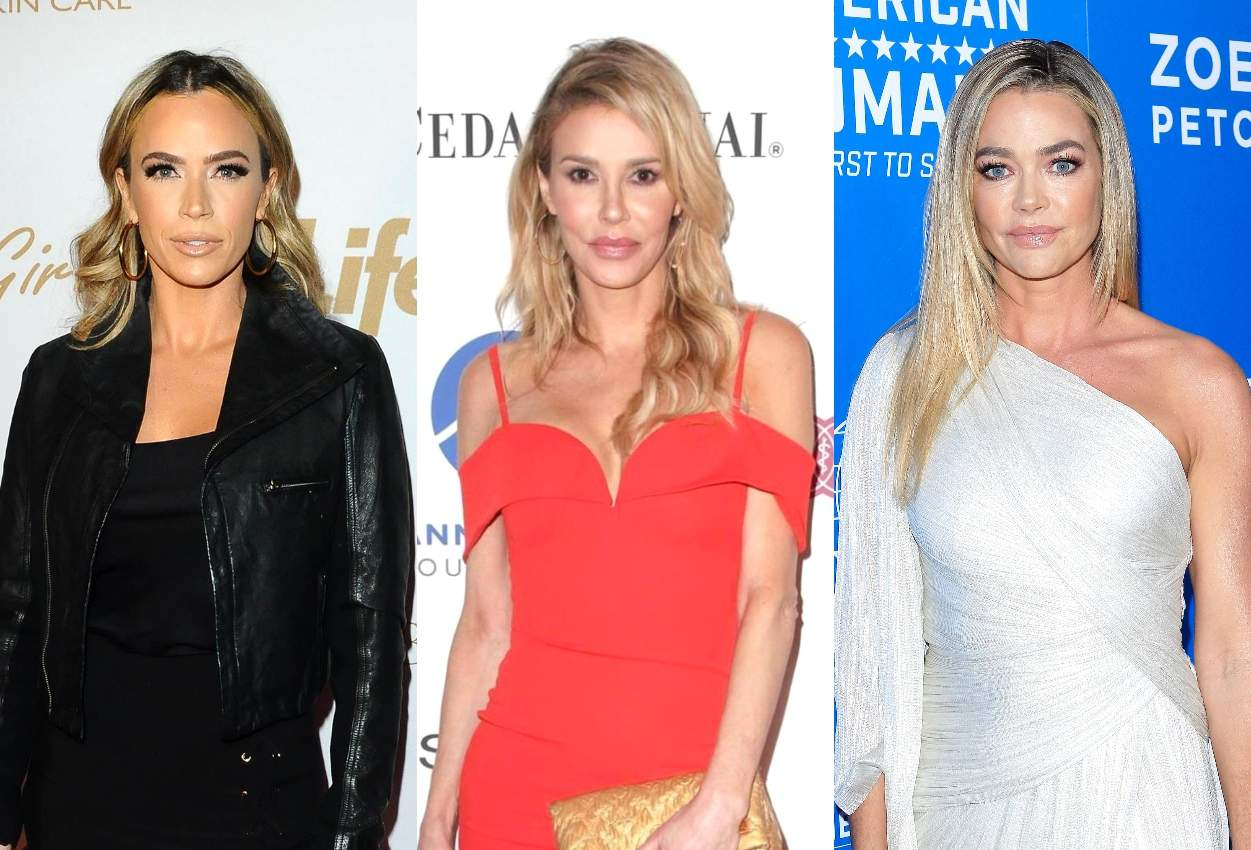 Teddi Mellencamp Teases Upcoming 'Proof' as the Reason For Believing Brandi Over Denise About Alleged Affair, Plus She Condemns Denise Targeting Her and Denies RHOBH Scene With Brandi Was 'Set Up'