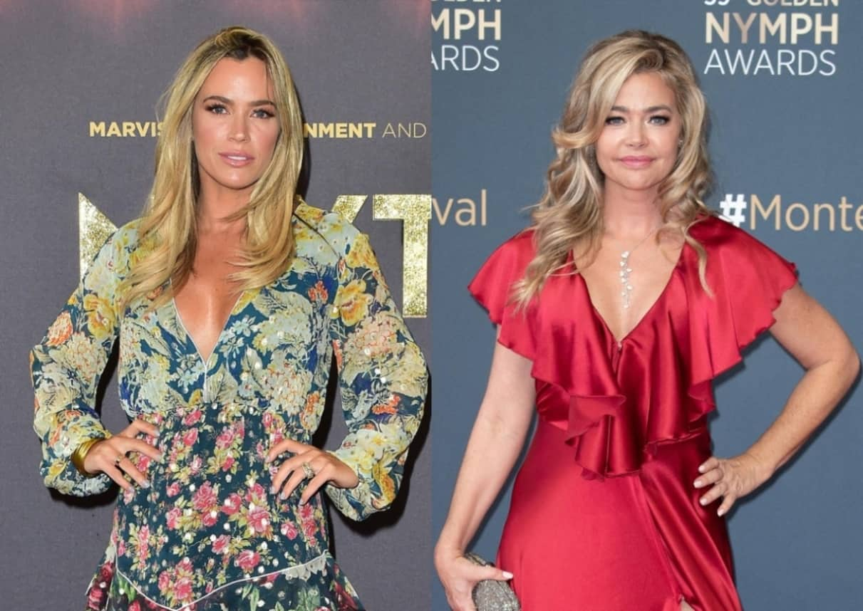 """RHOBH's Teddi Mellencamp Reposts Comment Deleted by Denise and Slams Her """"Victim Routine"""" Amid Feud, Plus She Reveals the Part of Her Life That Isn't Shown on Show and Talks """"Crazy"""" Reunion"""