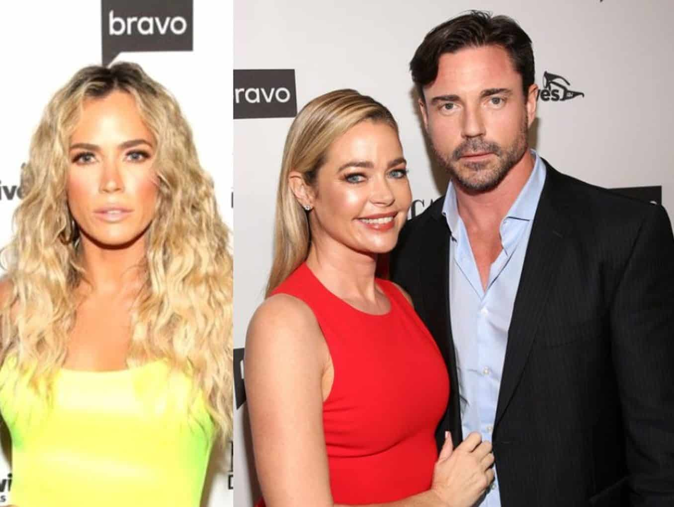 """RHOBH's Teddi Mellencamp Tells Aaron Phypers: """"Find Your Diamond Elsewhere"""" Amid Feud, Plus Denise Insists She Was """"Obviously Joking"""" About 'Steak' and 'Strip Bar' After Rinna Throws Shade"""