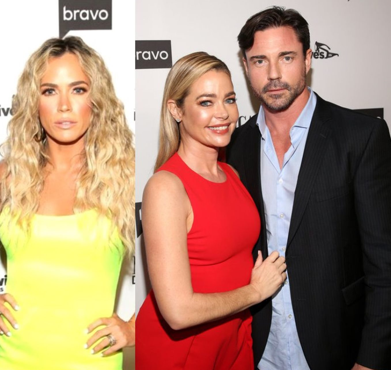 "RHOBH's Teddi Mellencamp Tells Aaron Phypers: ""Find Your Diamond Elsewhere"" Amid Feud, Plus Denise Insists She Was ""Obviously Joking"" About 'Steak' and 'Strip Bar' After Rinna Throws Shade"