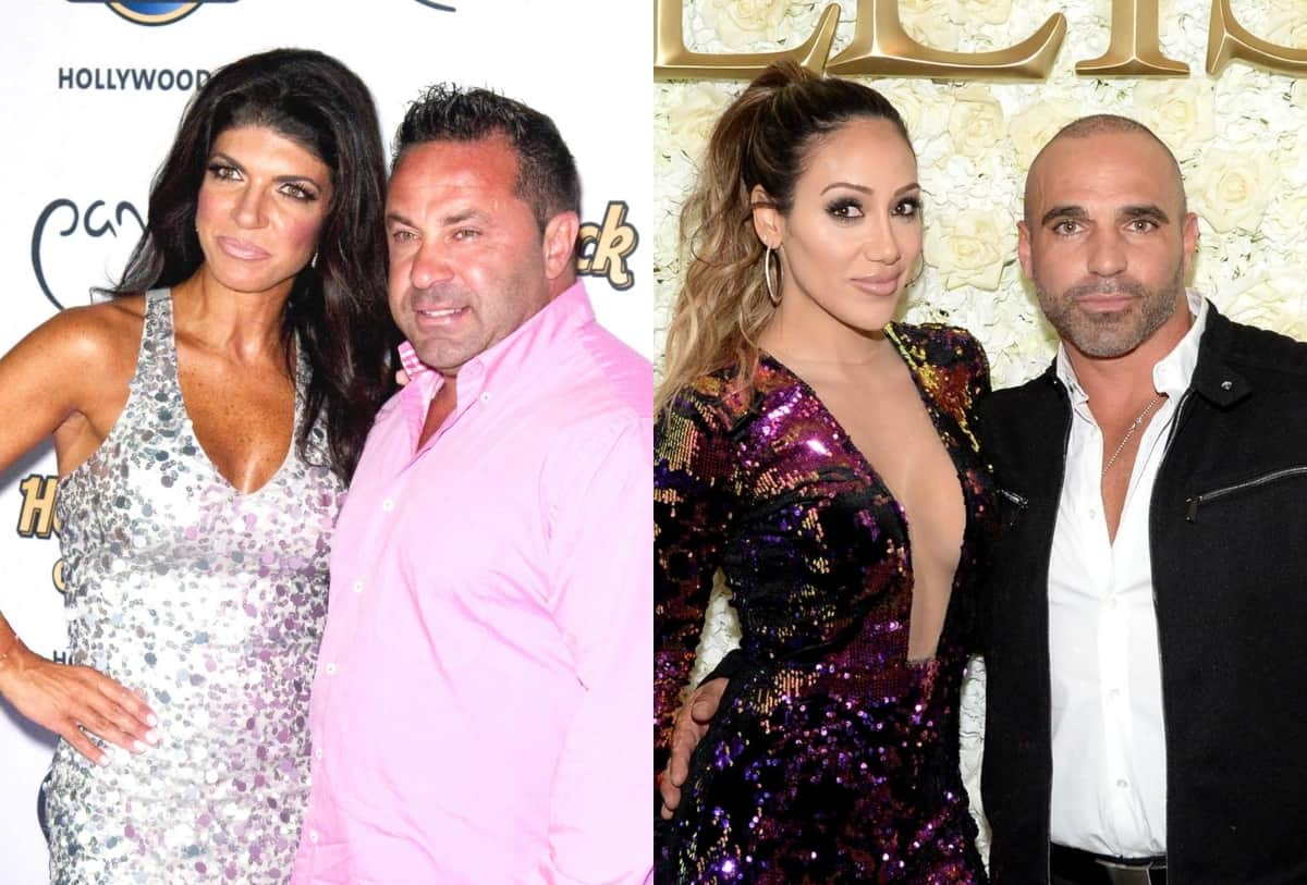 "RHONJ's Joe Giudice Accuses Joe Gorga of 'Lying,' Shades His Marriage to Melissa as He Claims to ""Know Things"" and Suggests He Isn't Helping Teresa Giudice or Their Kids"