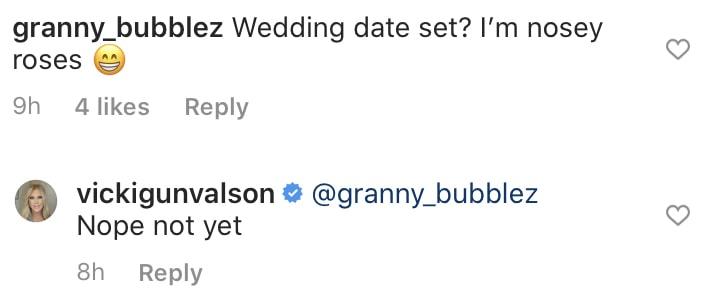 RHOC Vicki Gunvalson Doesn't Yet Have a Wedding Date