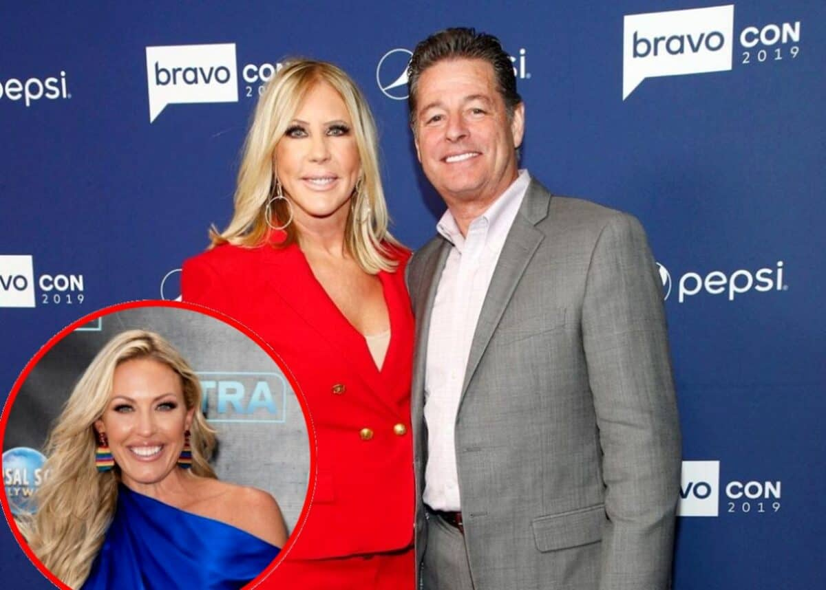 "Ex-RHOC Star Vicki Gunvalon Slams ""Annoying"" Braunwyn Windham-Burke, Dishes on Plastic Surgery, and Reveals If She and Steve Lodge Have Set a Wedding Date, Plus Calls Out Bravo for ""Big Mistake"""