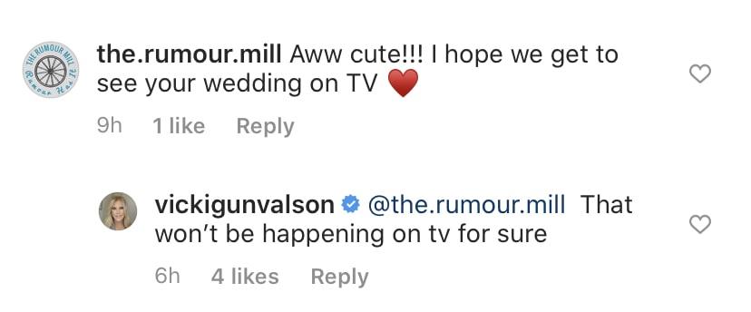 RHOC Vicki Gunvalson's Wedding Will Not Be Seen on TV
