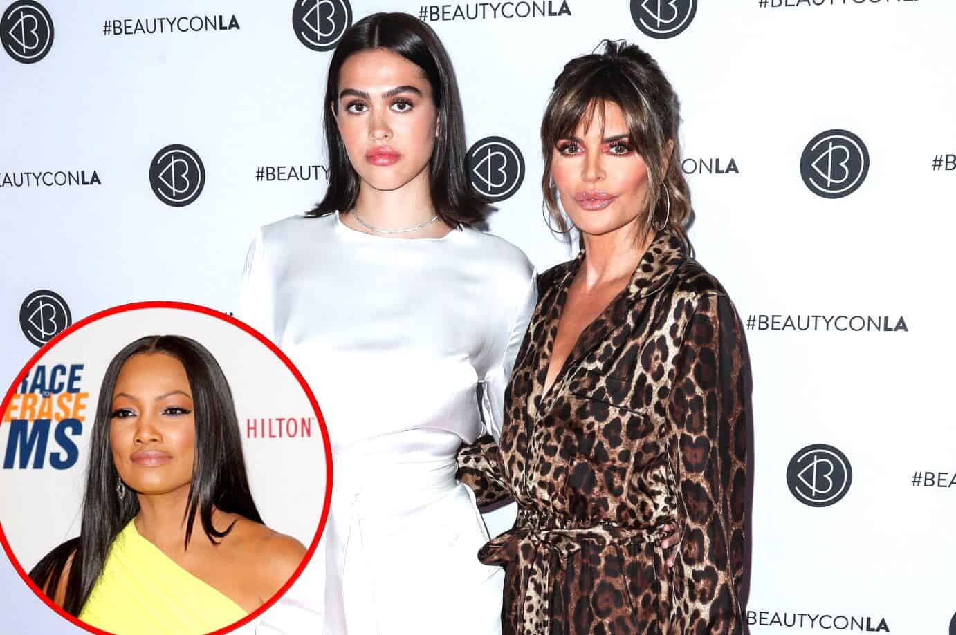 PHOTOS: Lisa Rinna Caught Filming Multiple Takes of RHOBH Scene With Daughter Amelia Hamlin Regarding Conversation About Garcelle's Comments, See the Evidence of the Staged Scene as Fans React