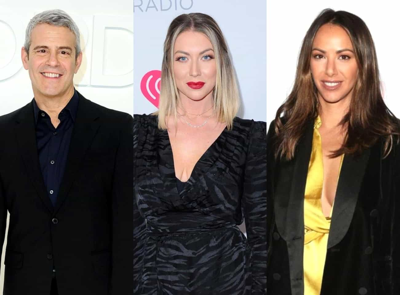 "Andy Cohen Reveals He'll ""Miss"" Stassi Schroeder and Kristen Doute After Their Vanderpump Rules Firings and Admits They Were Both ""Important"" to the Show, Plus Claims He's ""Excited"" for the New Season of RHONY Amid Calls for Diversity"