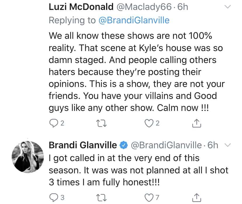 Brandi Glanville Denies Staging RHOBH Scene at Kyle Richards House
