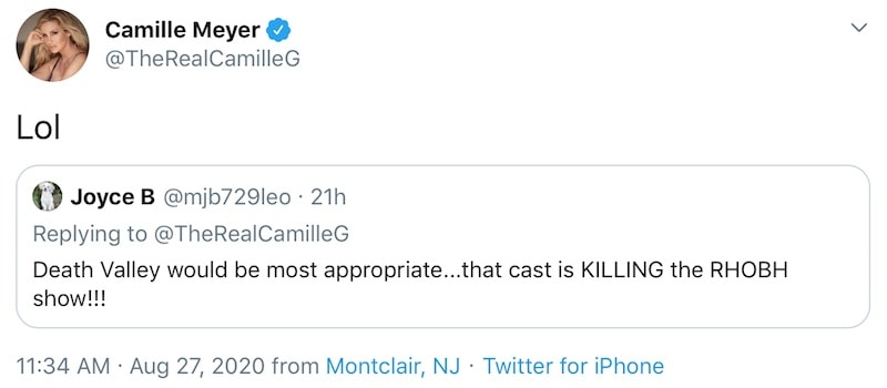 Camille Grammer Laughs About the RHOBH Cast Killing the Show