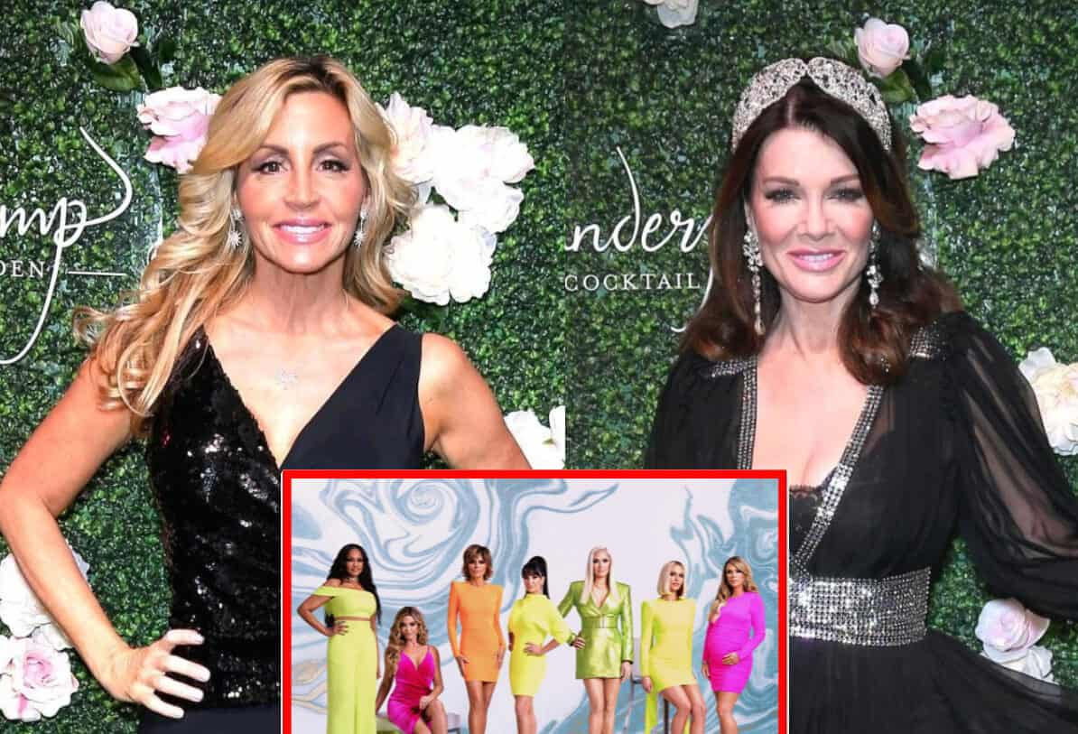 Camille Grammer and Lisa Vanderpump Shade the RHOBH Cast For Not Living in Beverly Hills With Camille Suggesting Series Should Be Renamed 'Real Housewives of the Valley,' Plus See Lisa's Shady Tweet!