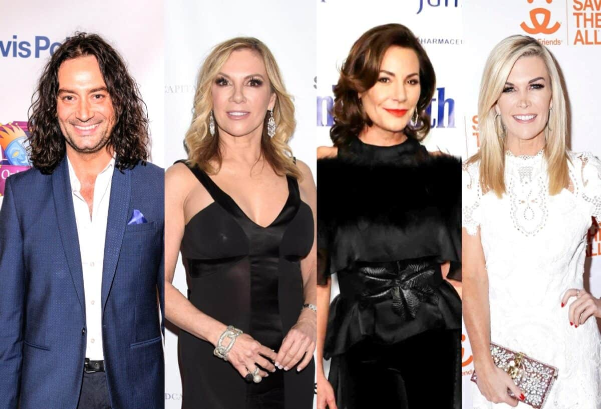 """AI's Constantine Maroulis Dishes on Dating Ramona, Luann and Tinsley From RHONY, Gets Questioned About Who is the Best Kisser, Plus He Explains Why He Thinks Bethenny is So """"Hot"""""""