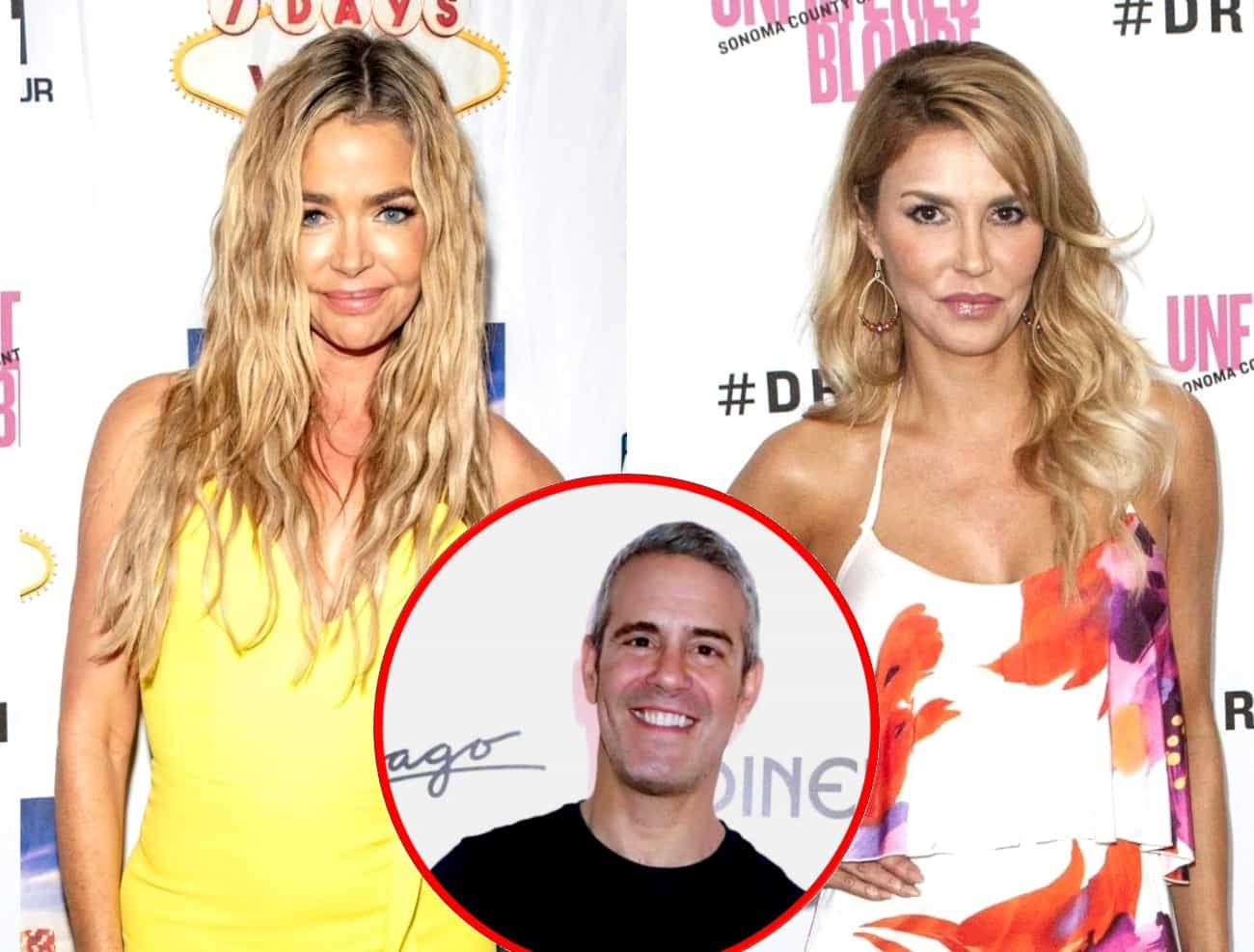 Denise Richards Reacts to Brandi Glanville's Supposedly Incriminating Text Messages, Plus Where Andy Cohen and RHOBH Stars Stand on the Drama