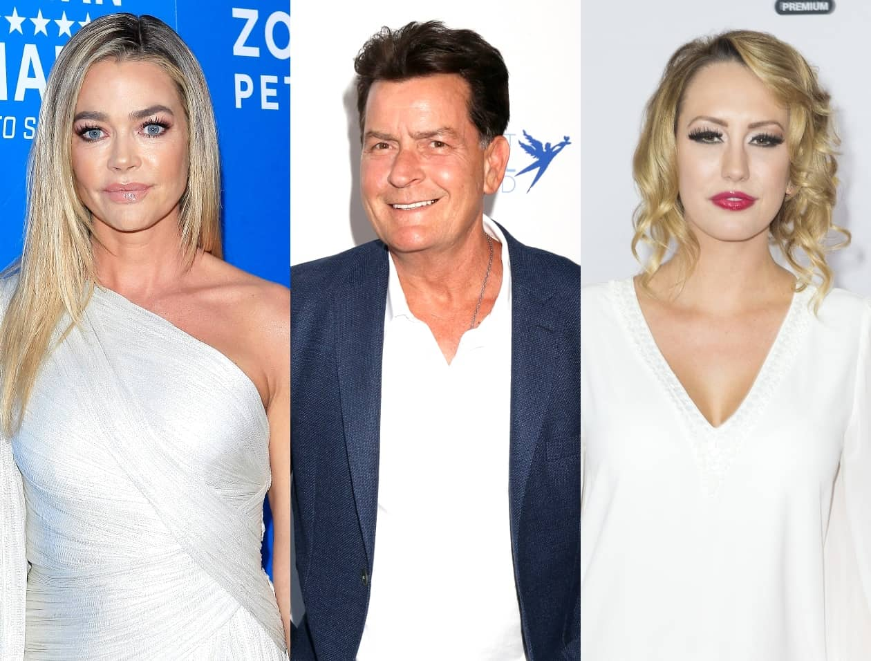 "REPORT: RHOBH's Denise Richards ""Never Propositioned"" Charlie Sheen's Ex-Fiance Brett Rossi and Has Never Tried to Sleep With Any of His Past Flames, Plus Brett is Accused of Slashing Denise's Tires Twice!"