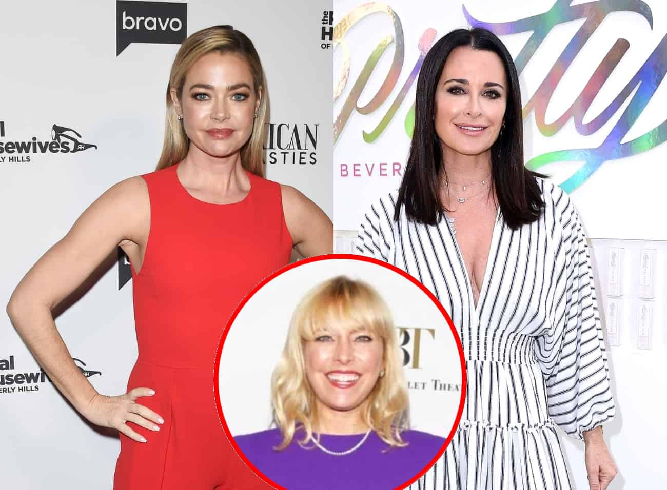 """RHOBH's Denise Richards Shades Kyle Richards Again for """"Ragamuffin"""" Diss as Sutton Weighs in, Plus Denise Shares Her Thoughts About the Comment Being Used as a """"Term of Endearment"""""""