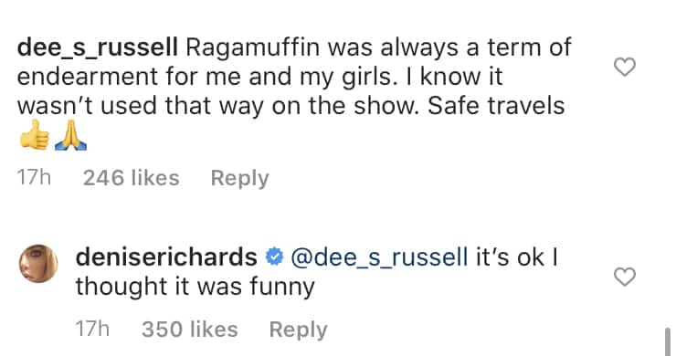 RHOBH Denise Richards on If Ragamuffin is a Term of Endearment