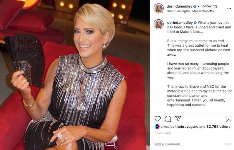 Dorinda Medley Announces She's Quitting RHONY