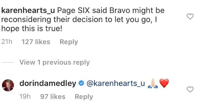 RHONY Dorinda Medley Reacts to Possible RHONY Return