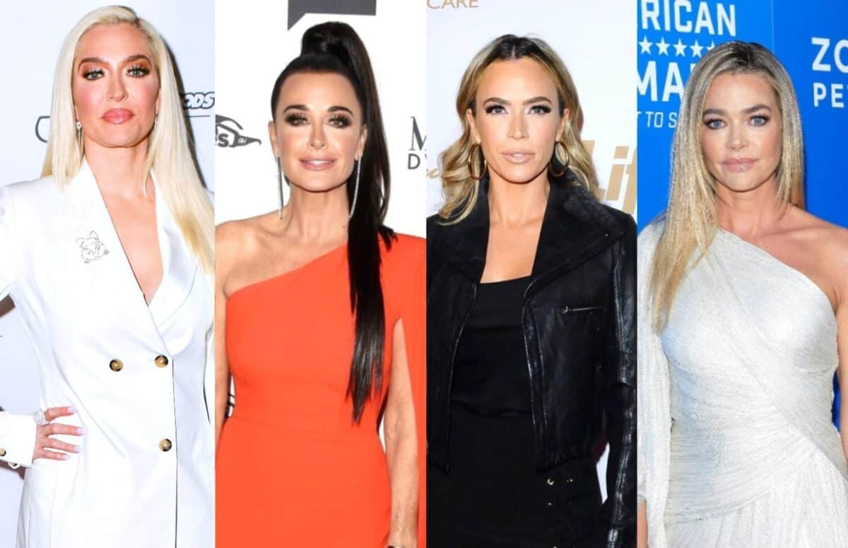 "RHOBH Cast Fights Back Against ""Mean Girls"" Diss by Denise Richards as Erika Says Cast is Simply ""Opinionated,"" Plus Teddi Questions Why Denise Brought Up Brandi Drama Again in Rome After Asking to Drop Topic"