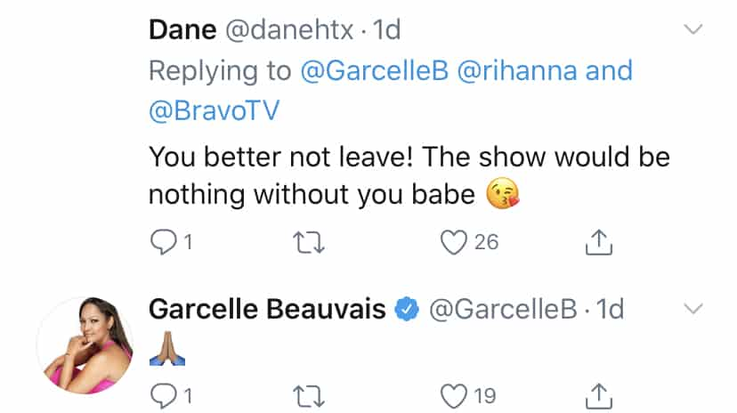 Garcelle Beauvais Responds to Fan About RHOBH Return