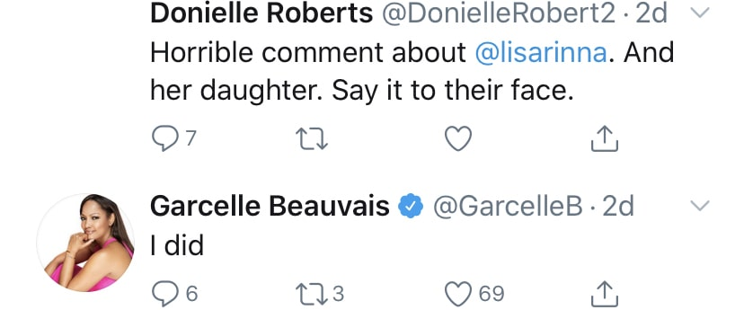RHOBH Garcelle Beavvais Responds to Backlash Over Comment About Lisa Rinna's Daughter