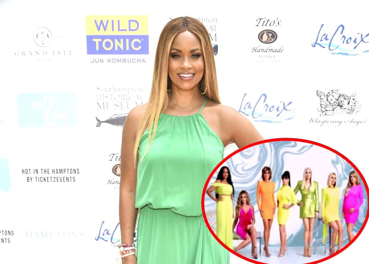 "Gizelle Bryant Says RHOBH Ladies ""Fight Over Nothing,"" Admits RHOP Cast ""Couldn't Get Away With That,"" Plus She Reveals Why She and Karen Huger Aren't Speaking and How She and Jamal Rekindled Their Romance"