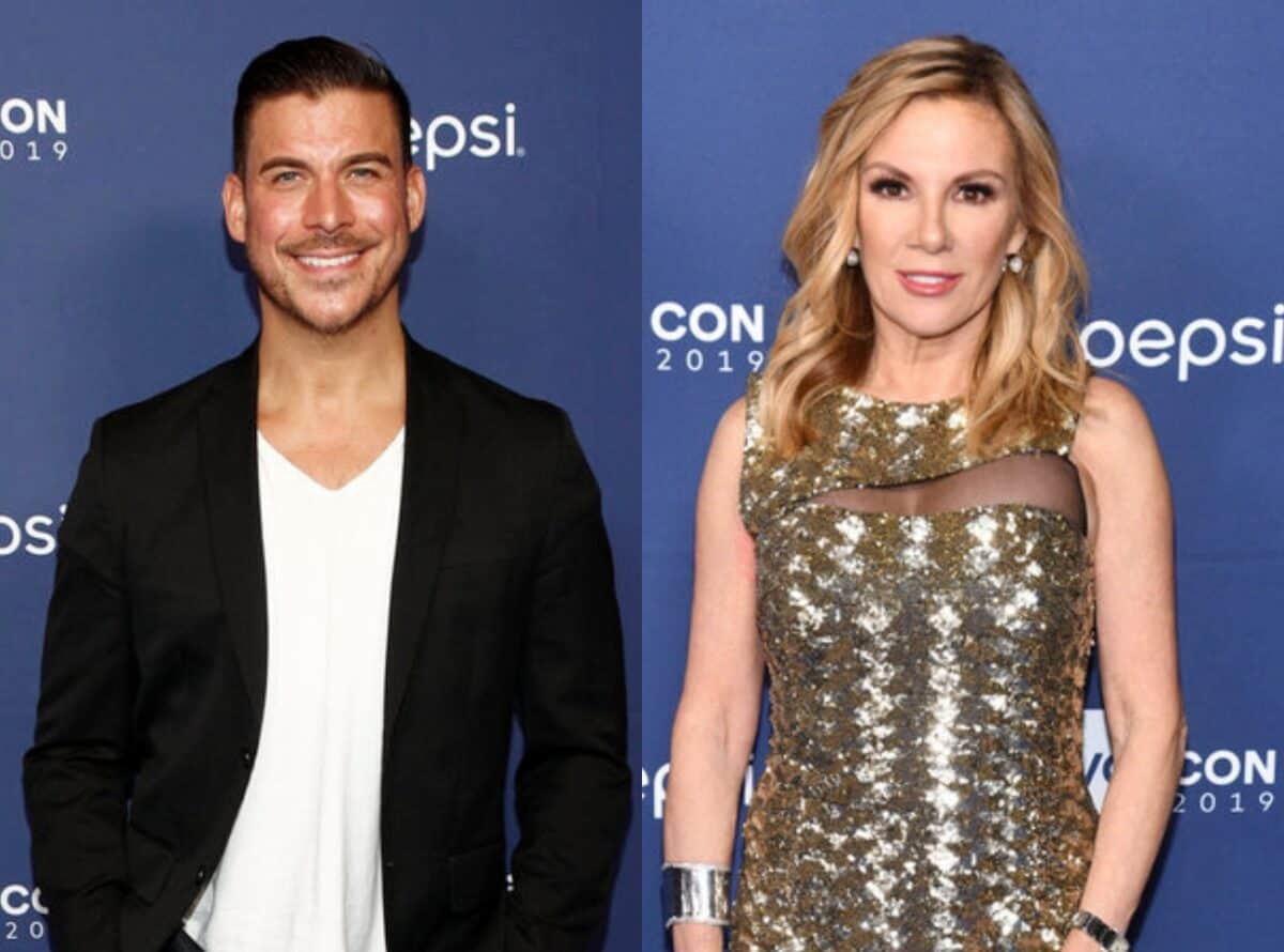 """Vanderpump Rules' Jax Taylor Says He and Ramona Singer Are """"A Lot Alike"""" After the RHONY Star Says She """"Loves Jax"""""""