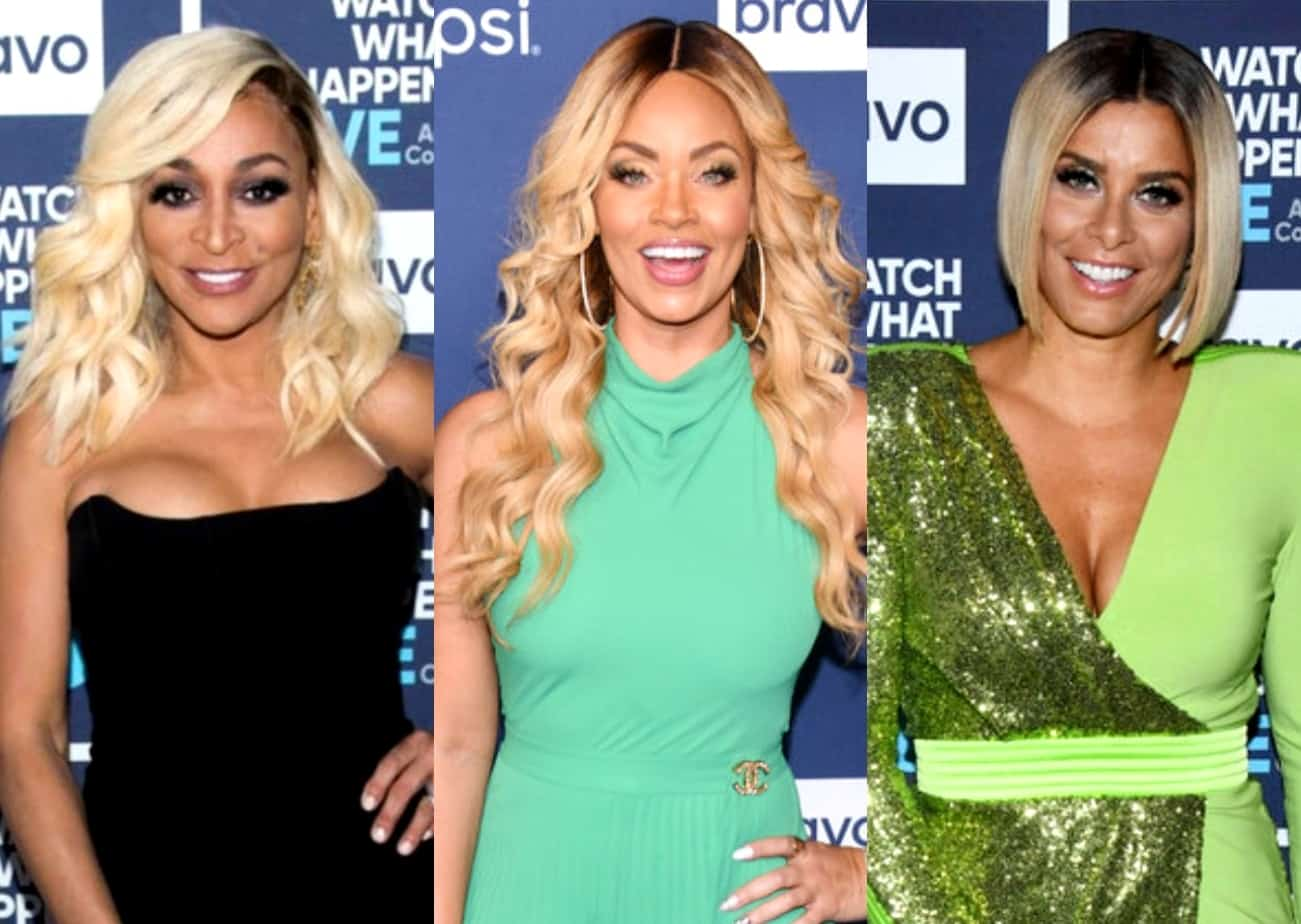 RHOP's Karen Huger Shades Gizelle Bryant in Twitter Comments and Accuses Robyn Dixon of Imitating Her Housewarming Party Look, Robyn Fires Back and Clarifies Her RHOBH Inspiration