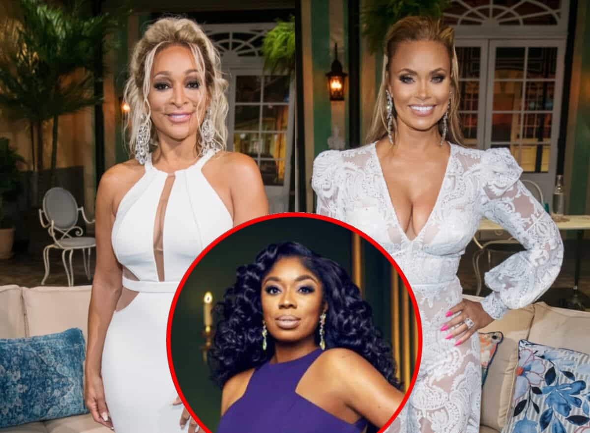 """RHOP's Karen Huger Slams Gizelle Bryant for Dragging Cast With """"Twisted Lies"""" and Says She's """"Not Impressed"""" With """"Rude"""" Newbie Wendy Osefo as Wendy Claps Back by Suggesting Her First Name is Fitting"""