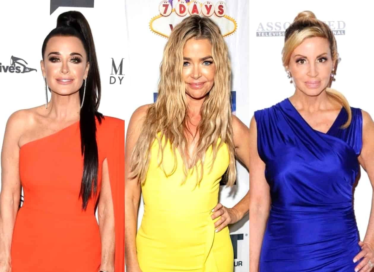 RHOBH's Kyle Richards Suggests Denise Richards Was Manipulated by Camille Grammer in Rome as She Finds Timing of Their Friendship Suspicious, Plus Teddi Shades Relationship as Convenient