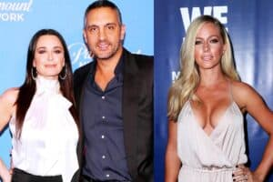 "REPORT: Kyle Richards on ""High Alert"" After Husband Mauricio Hired Kendra Wilkinson to Work at The Agency as RHOBH Star Reporteldy ""Always"" Looking Over Her Shoulder"