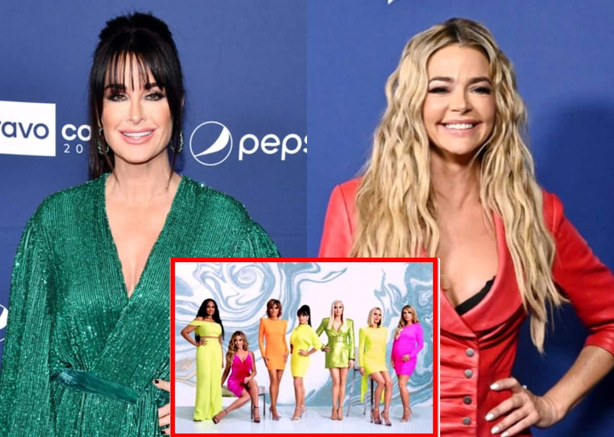 "Kyle Richards Accuses Denise Richards of 'Censoring' Herself on RHOBH as Cast Reacts to Brandi's Leaked Text Messages From Denise, Plus Teddi Claims Texts Confirmed What She ""Already Knew"" as Brandi Promises More Texts are Coming"