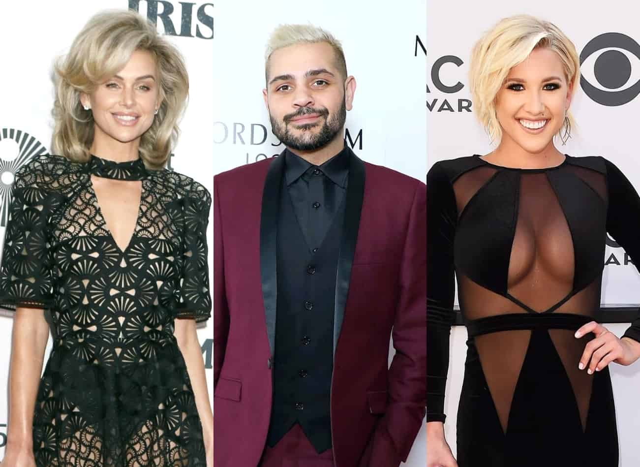 "Pump Rules' Lala Kent Fires Back at Claim She Wanted ""Free"" Wedding Dress From Designer Michael Costello as Savannah Chrisley Claims She Wasn't ""Famous Enough"" for a Gown, Michael Says Reality Stars Shouldn't ""Feel Entitled"""