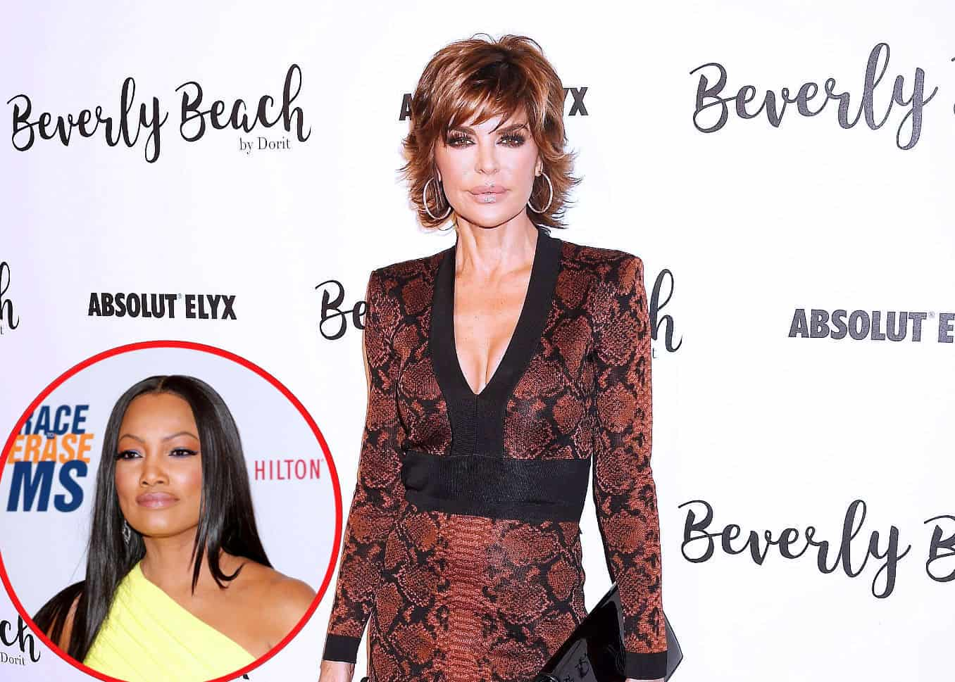 "RHOBH's Lisa Rinna Shades Garcelle by Suggesting Her Dancing ""May Cause an Eating Disorder"" in Deleted Post, Jokes That Her Kids Are ""Thriving"" After She 'Screwed Them Up' Plus She Reacts to ""Petty"" Accusations"