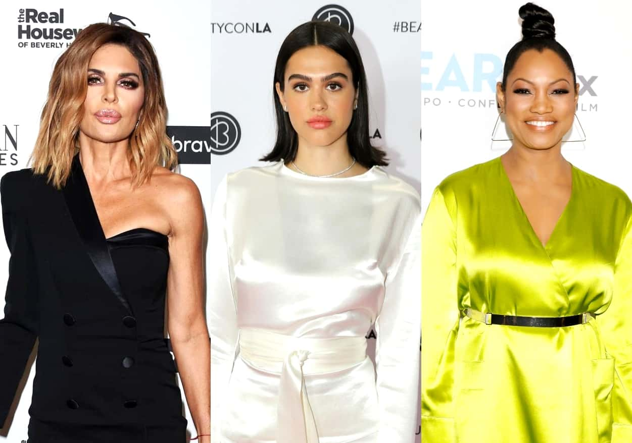 "RHOBH's Lisa Rinna Confirms Amelia Hamlin is ""Thriving"" and Labels Herself ""Mother of the Year"" as the Model Lashes Out at Garcelle Beauvais by Suggesting She ""Body-Shamed"" Her and Admitting Her Comments Made Her Wonder If She is ""Fat"""