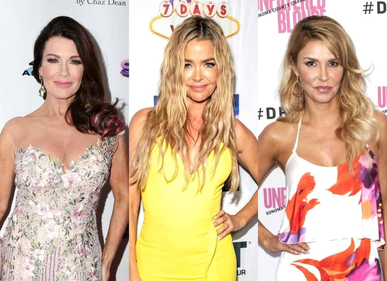 Ex-RHOBH Star Lisa Vanderpump Weighs in on Denise Richards and Brandi Glanville's Affair Drama and Admits She Wants to Speak to Denise, Plus Dishes on Vanderpump Dogs Spinoff and Reveals If She'll Welcome the Real Housewives to Her New Podcast