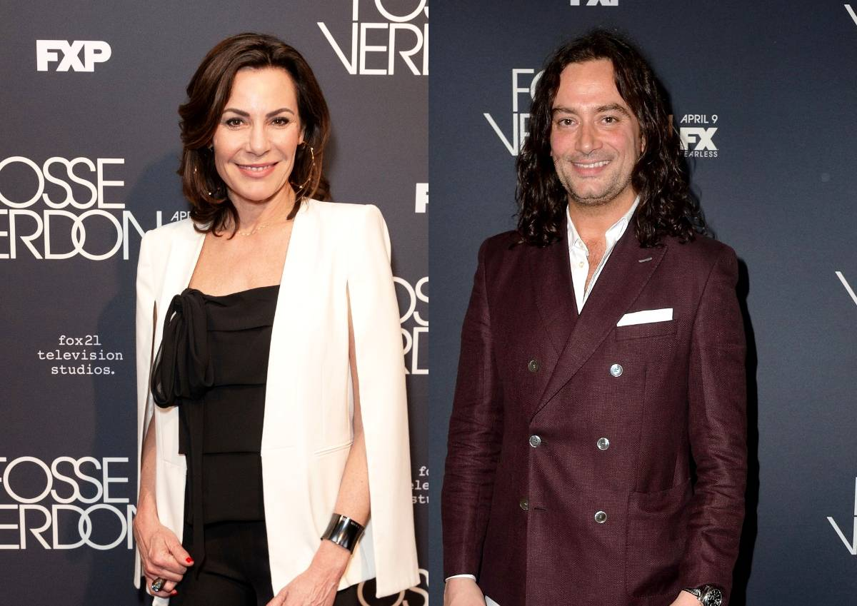"Luann de Lesseps Denies Dating Constantine Maroulis and Clarifies Their Relationship After News He Dated Three RHONY Stars, Plus She Promotes New Single ""Viva La Diva"""