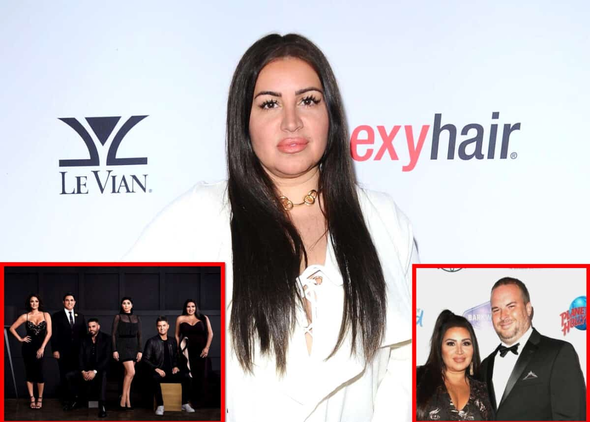 """Mercedes """"MJ"""" Javid Comments on the Shahs of Sunset Reunion and Where She Stands With Reza, GG, and Destiney, Plus She Shares a Major Update on Her Marriage to Tommy Feight"""