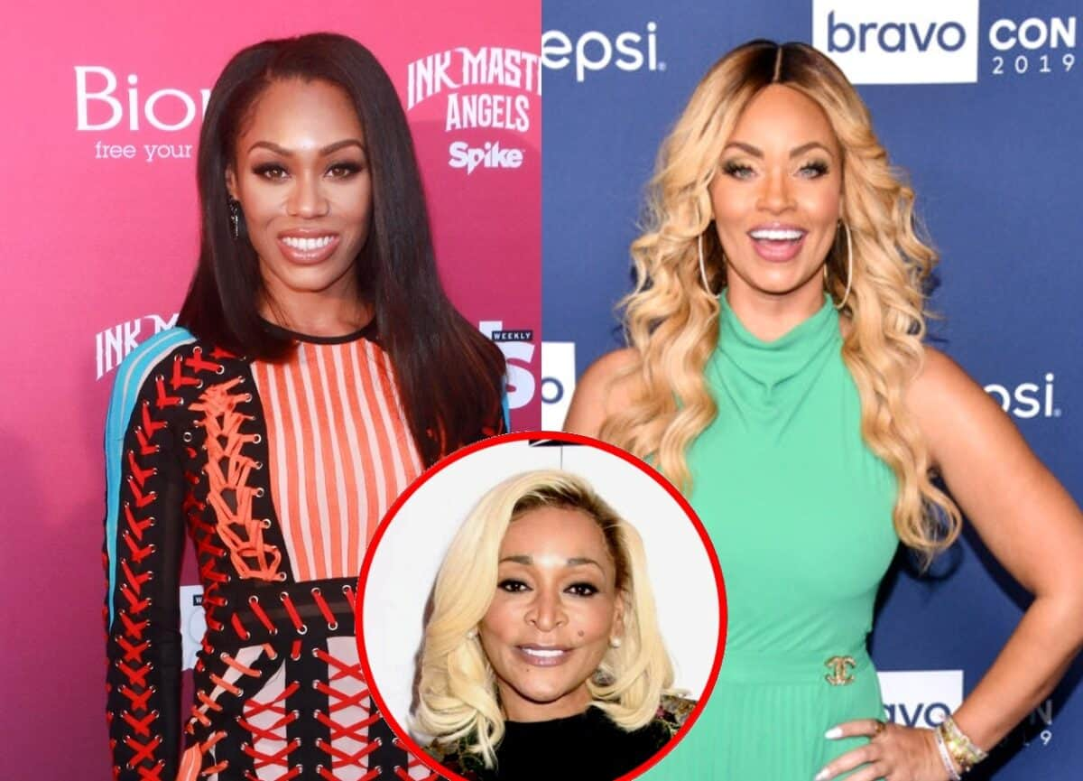 """Monique Samuels Reacts to Gizelle Bryant Sharing Cheating Rumors as Karen Calls Out Gizelle For Being """"Jealous"""" of Monique, Plus Candiace Defends Herself, Attributes Monique's Behavior on Season 5 of the RHOP to Previous """"Lackluster Storylines"""""""