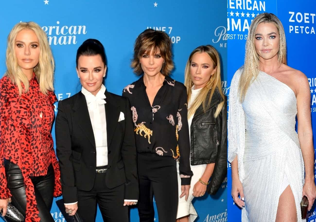 """The RHOBH Cast Reacts to Denise Richards Being a """"No-Show"""" to the Finale Party With Dorit Kemsley Saying She Was """"Scared"""" and """"Worried"""" And Teddi Mellencamp Admitting She """"Wasn't Shocked,"""" Plus Sutton Stracke Discusses Denise's """"Disappointing Fall"""" With the Cast"""